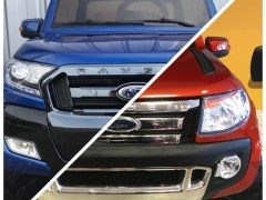 Ford Ranger Phase 2 vs Ford Ranger Version Luxe 12 volts