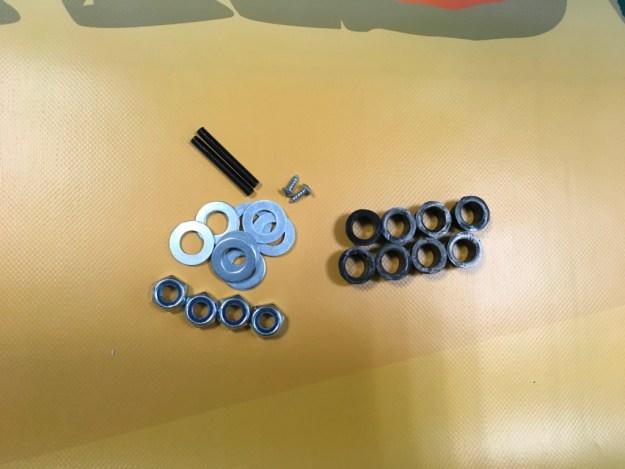 rondelles et goupilles pour camion de police 24 volts