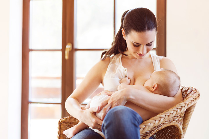 how to care for lump during breasfeeding
