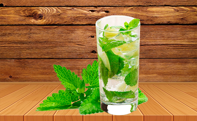 Mint Juice for Headache