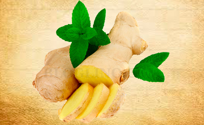 Ginger for Athlete's Foot