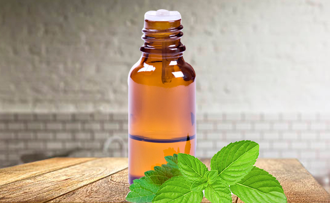 Peppermint Oil for Athlete's Foot