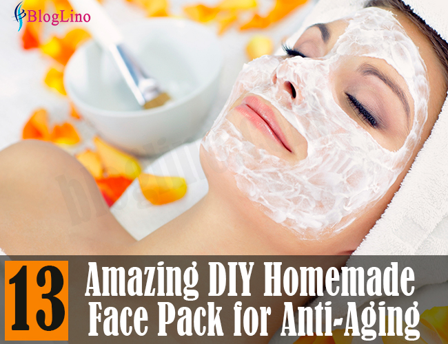 13 Best DIY Homemade Face Packs for Anti Aging