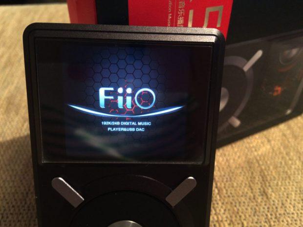 fiio x5 display