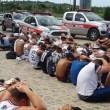 Torcedores do Santa Cruz são detidos por furtos no Conde