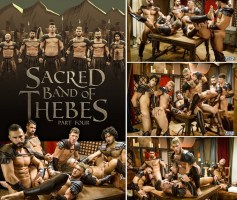 Sacred Band Of Thebes Part 4 – Diego Sans, Francois Sagat, JJ Knight, Ryan Bones, William Seed & D.O. – Online