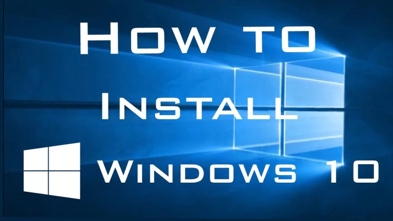 clean install of windows 10 via bootable media