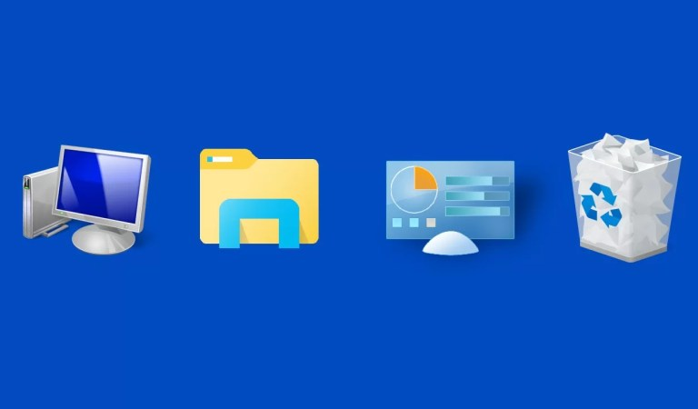 How to Add Icons to Desktop in Windows 10, 8 and 8.1?