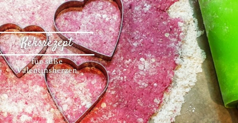 Read more about the article Rezept für süße Valentinsherzen