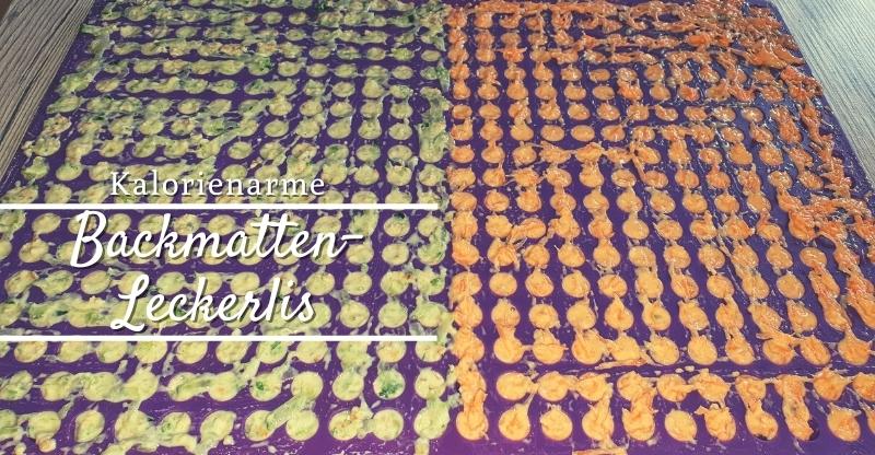 Read more about the article Kalorienarme Backmatten-Leckerlis