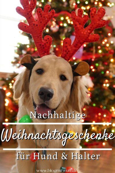 Nachhaltige Weihnachtsgeschenke für Hund und Halter