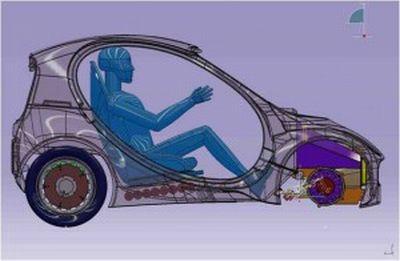 Riversimple Urban Car vettura open source, low-cost con alimentazione ad idrogeno 02