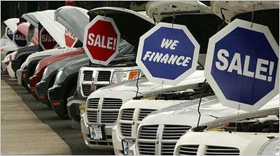 Standard & Poor's un 2010 nero per il mercato delle automobili
