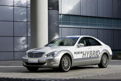 Salone di Francoforte Mercedes-Benz Vision S 500 Plug-in HYBRID 01