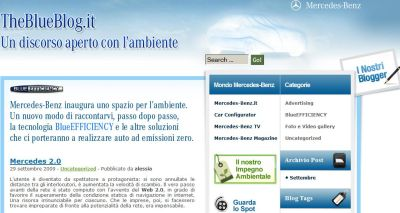 mercedes benz italia the blue blog
