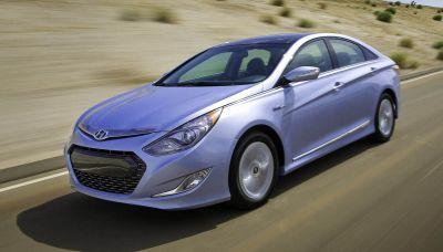 New York Auto Show Hyundai Sonata Hybrid 00