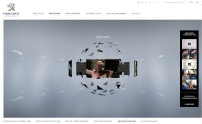 New-Peugeot.com un sito per condividere il sogno della Peugeot e costruire il futuro anche con un concorso a premi 02
