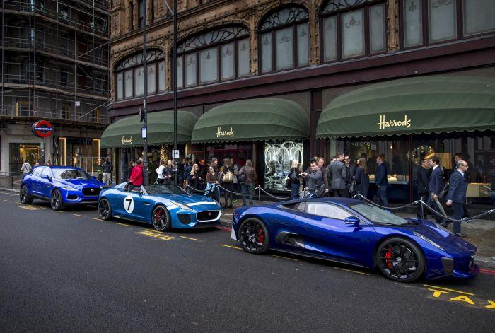 'Wallpaper Handmade with Jaguar' and C-X17 concept car 02