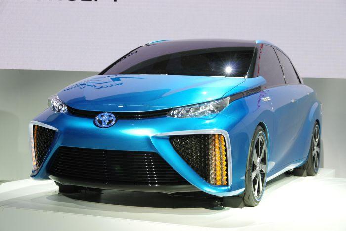 Toyota FCV Concept al Tokyo Motor Show