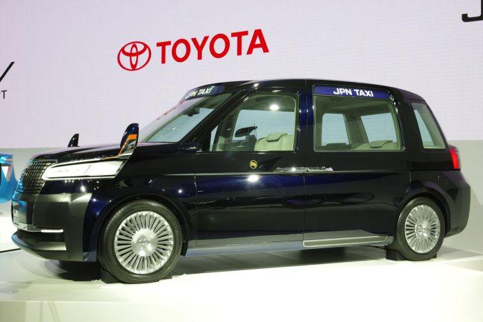 Toyota JPN Taxi alTokyo Motor Show