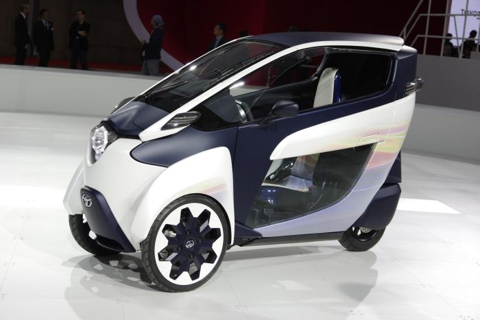 Toyota i-Road concept al Tokyo Motor Show