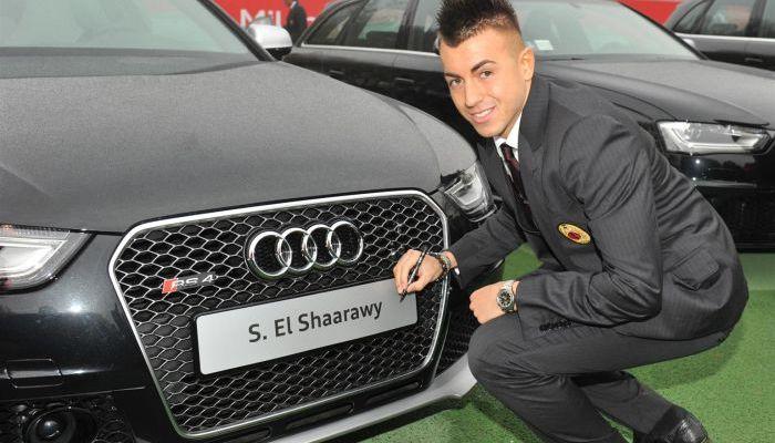 Tutte le Audi scelte dai calciatori del Milan per la stagione 2013/2014