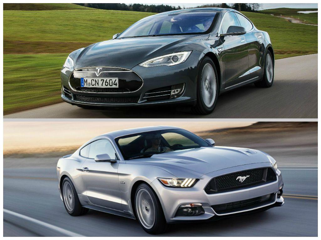Tesla Motors e Mustang due simboli USA alla conquista dell'Europa