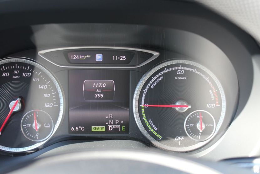 Mercedes-Benz Electric Day test-drive della nuova Classe B Electric Drive 14