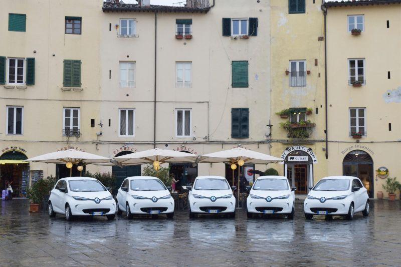 Renault ZOE al Comune di Lucca