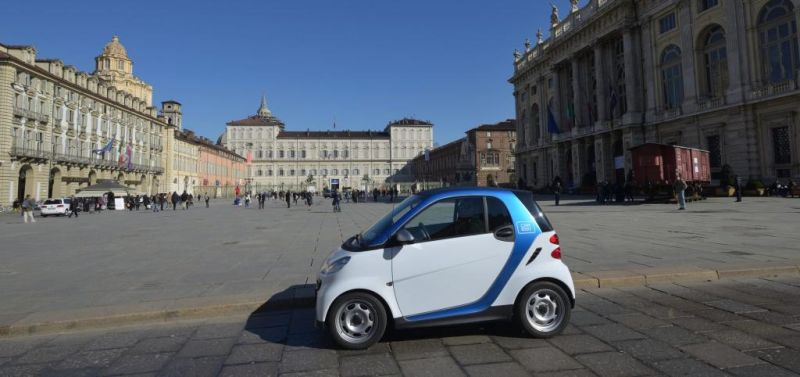 Car Sharing car2go entra ufficialmente in servizio a Torino