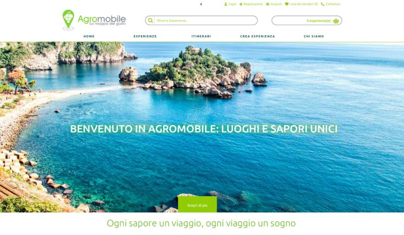 Agromobile, il portale delle esperienze di gusto si presenta al Vivaio delle Idee