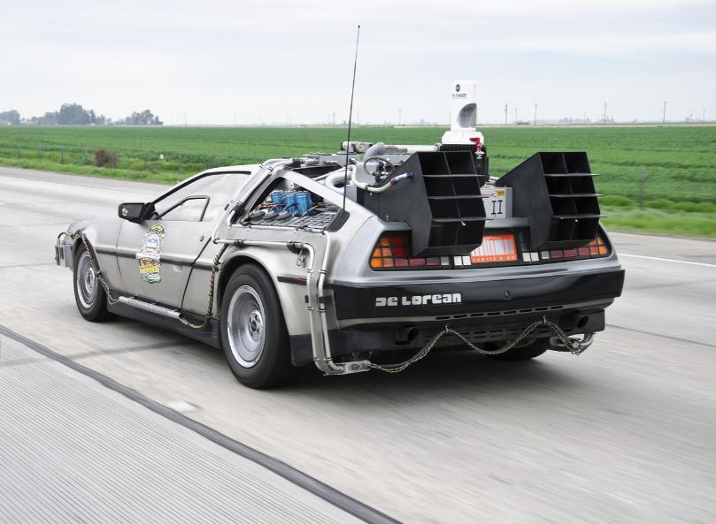 Blockbuster movie time traveller Marty McFly could refuel his famous DeLorean car for same cost today as a tank of petrol cost in 1985, if he converted his car to run on autogas LPG.