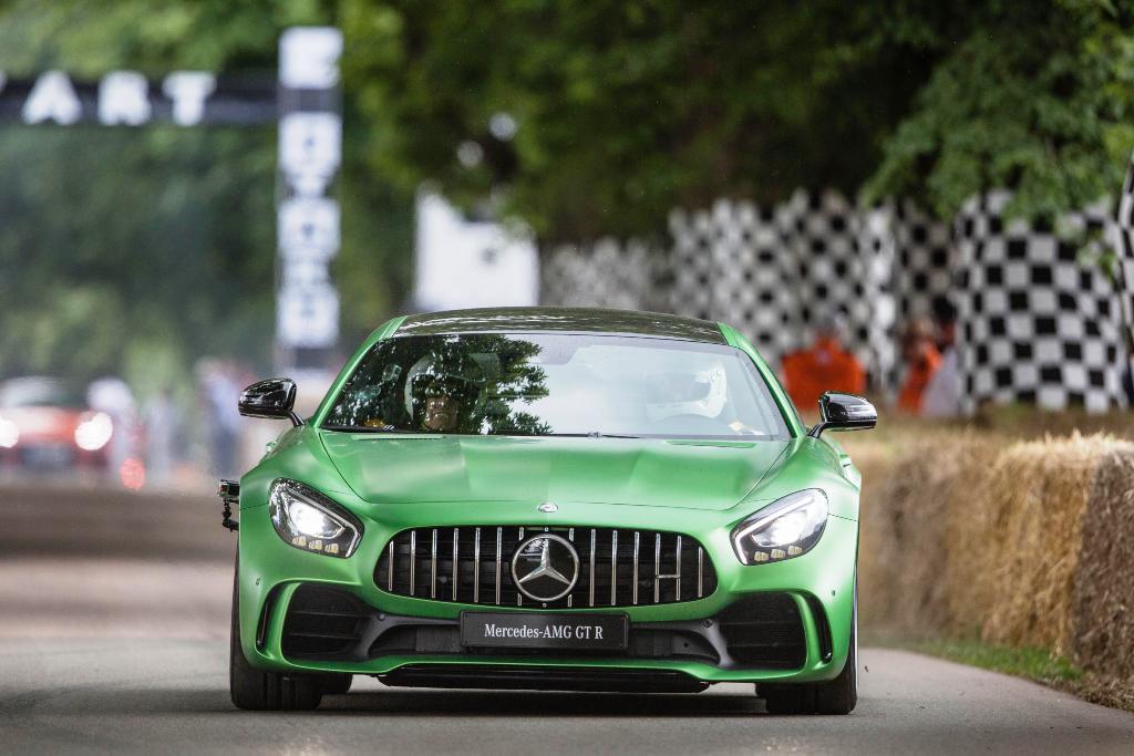 Mercedes-AMG GT R Foto dal vivo 01