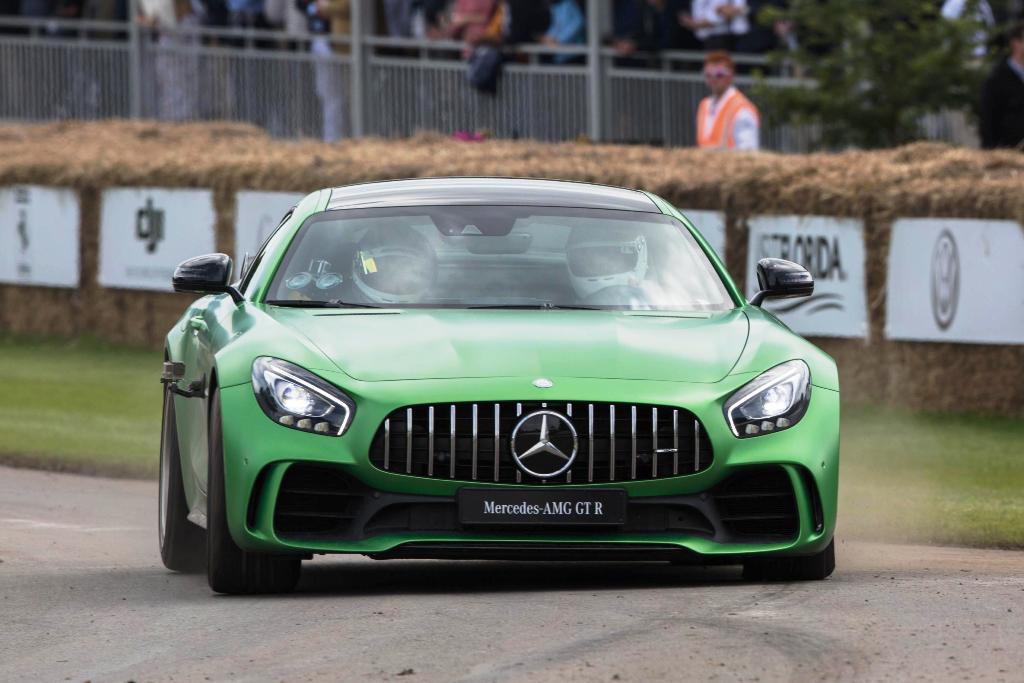 Mercedes-AMG GT R Foto dal vivo 12