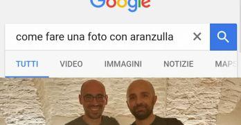 Come fare una foto con Aranzulla