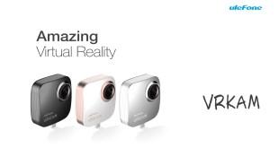 Ulefone VRKAM, per video e foto a 360 gradi per dispositivi VR