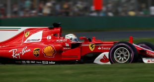 La Ferrari con Vettel vince il gran premio d'australia