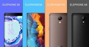 Elephone lista completa 2017