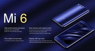 Xiaomi Mi 6 offerta su Gearbest