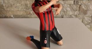 Piatek in 3d. Il calciatore del Milan in 3d