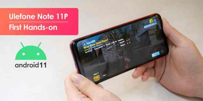 Note 11P. Video del nuovo Smartphone Ulefone.