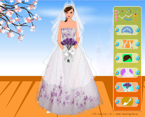 Wedding Dress Up Games Screenshot