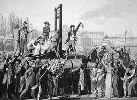 guillotine ejecuciones cabeza guillotina