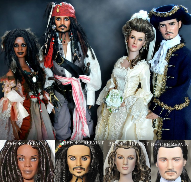 munecos piratas del caribe