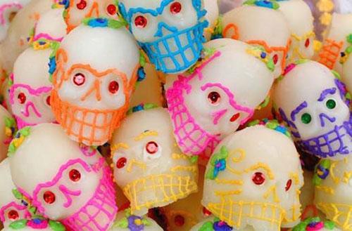 dia muertos mexico calaveras azucar