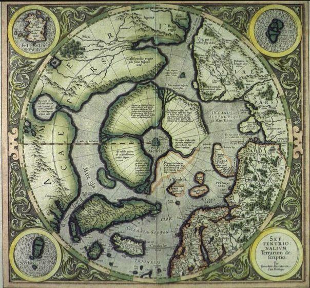 hiperborea hyperborea mapa polo norte