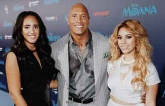 Simone Alexandra Johnson Dwayne Johnson