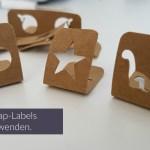 SnapPap-Labels zum wenden