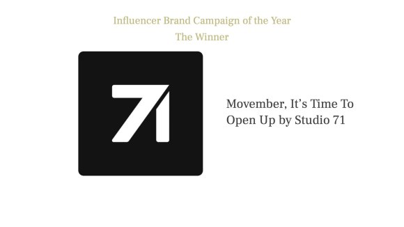 Influencer brand campaign of the Year 2021