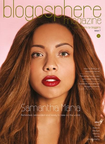 Samantha Maria Issue 7 - Blogosphere Magazine